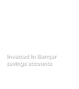 17.8million invested in Banqer savings accounts