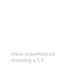 72% of students have experienced creating a CV